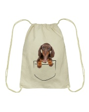 Dachshund Pocket Drawstring Bag thumbnail