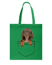 Dachshund Pocket Tote Bag thumbnail