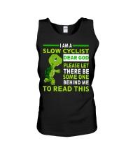 Cycle - I Am A Slow Cyclist Unisex Tank thumbnail