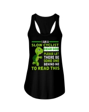 Cycle - I Am A Slow Cyclist Ladies Flowy Tank thumbnail