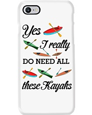 Kayaking - I Really Do Need All These Kayaks Phone Case thumbnail