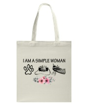 Canoeing - I Am A Simple Woman Tote Bag thumbnail