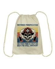 Firefighter Retired Firefighter Still Smokin Drawstring Bag thumbnail