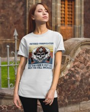 Firefighter Retired Firefighter Still Smokin Classic T-Shirt apparel-classic-tshirt-lifestyle-06