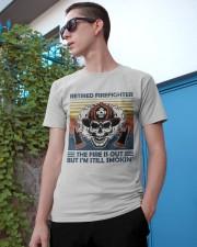 Firefighter Retired Firefighter Still Smokin Classic T-Shirt apparel-classic-tshirt-lifestyle-17