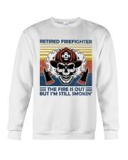 Firefighter Retired Firefighter Still Smokin Crewneck Sweatshirt thumbnail