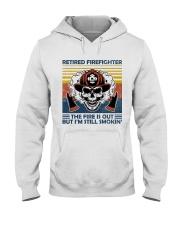 Firefighter Retired Firefighter Still Smokin Hooded Sweatshirt thumbnail