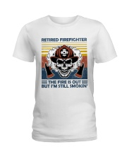 Firefighter Retired Firefighter Still Smokin Ladies T-Shirt thumbnail