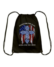 Cycle - Stand for the flag Drawstring Bag thumbnail