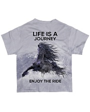 Horse Life Is A Journey All-over T-Shirt back