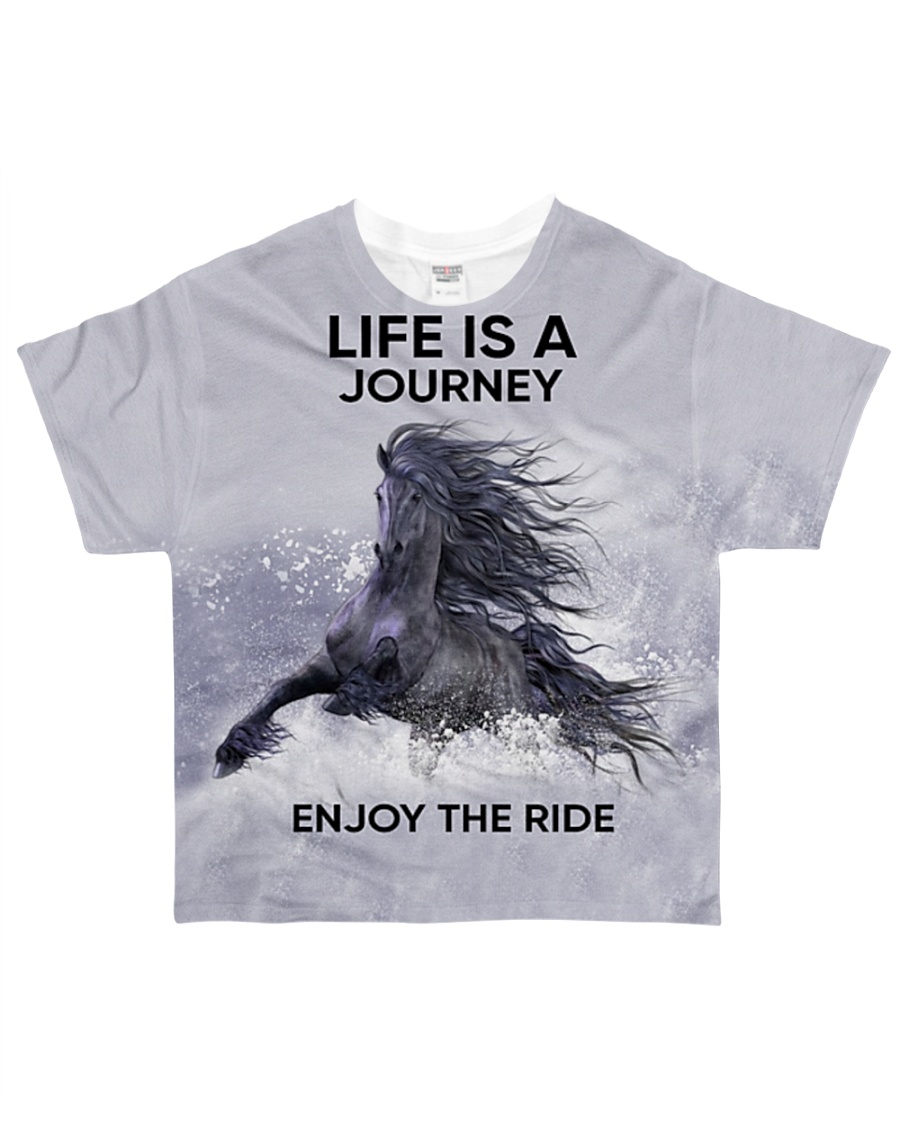 Horse Life Is A Journey All-over T-Shirt