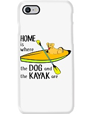 Kayaking - Home Is Where The Dog And The Kayak Are Phone Case thumbnail