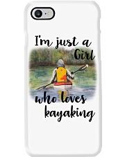 Kayaking - I'm Just A Girl Who Loves Kayaking Phone Case thumbnail