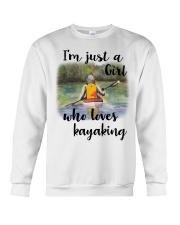 Kayaking - I'm Just A Girl Who Loves Kayaking Crewneck Sweatshirt thumbnail
