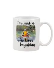Kayaking - I'm Just A Girl Who Loves Kayaking Mug thumbnail