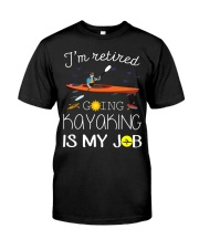 Kayaking - Retired Classic T-Shirt front
