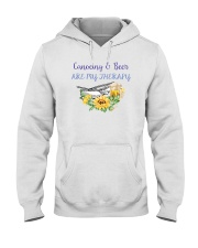 Canoeing - Canoeing And Beer Are My Therapy Hooded Sweatshirt tile