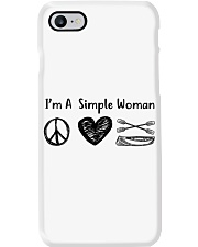 Canoeing - I Am A Simple Woman Phone Case thumbnail