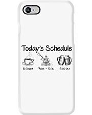 Kayaking - Today's Schedule Phone Case thumbnail