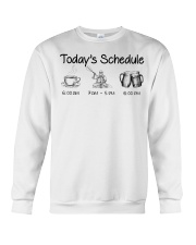 Kayaking - Today's Schedule Crewneck Sweatshirt thumbnail