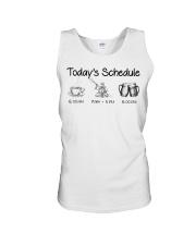 Kayaking - Today's Schedule Unisex Tank thumbnail