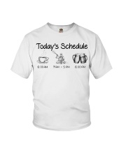 Kayaking - Today's Schedule Youth T-Shirt thumbnail