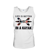 Kayaking - Life Is Better In A Kayak Unisex Tank thumbnail