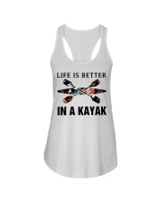 Kayaking - Life Is Better In A Kayak Ladies Flowy Tank thumbnail