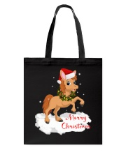 Horses - Merry Christmas Tote Bag tile