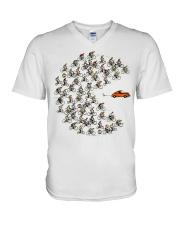 Cycle - Funny V-Neck T-Shirt thumbnail