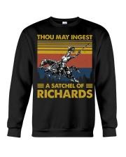 Temp Thou May Ingest Crewneck Sweatshirt thumbnail
