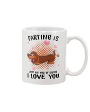 Dachshund - Farting Mug front