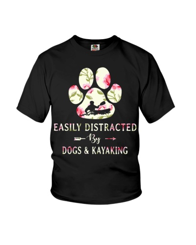 Kayaking - Easily Distracted
