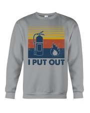 Firefighter I Put Out Crewneck Sweatshirt thumbnail
