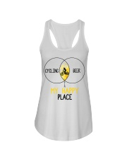 Cycle - Cycling And Beer Ladies Flowy Tank thumbnail