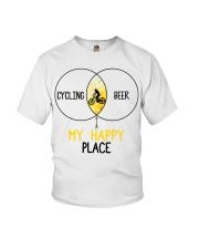 Cycle - Cycling And Beer Youth T-Shirt thumbnail