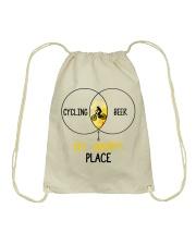 Cycle - Cycling And Beer Drawstring Bag thumbnail