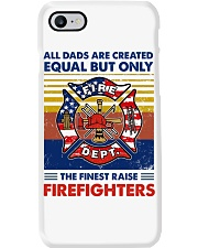 Independence Day Finest Firefighter Dad Phone Case tile