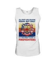 Independence Day Finest Firefighter Dad Unisex Tank tile