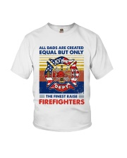 Independence Day Finest Firefighter Dad Youth T-Shirt tile
