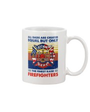 Independence Day Finest Firefighter Dad Mug tile