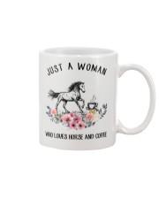 Horse - Just A Woman Who Loves Horse And Coffee Mug thumbnail
