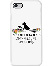 Kayaking - All I Need Is Love And Kayak And A Dog Phone Case thumbnail