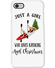 Kayaking - Just A Girl Phone Case thumbnail