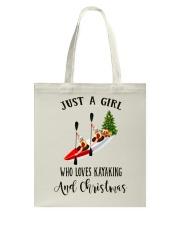 Kayaking - Just A Girl Tote Bag thumbnail