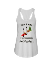Kayaking - Just A Girl Ladies Flowy Tank thumbnail