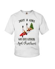 Kayaking - Just A Girl Youth T-Shirt thumbnail