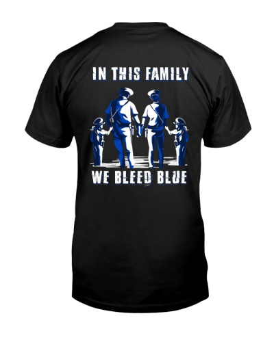 In This Family We Bleed Blue Daughter