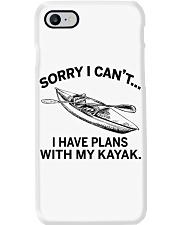 Kayaking - I Have Plans With My Kayak Phone Case thumbnail