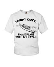 Kayaking - I Have Plans With My Kayak Youth T-Shirt thumbnail